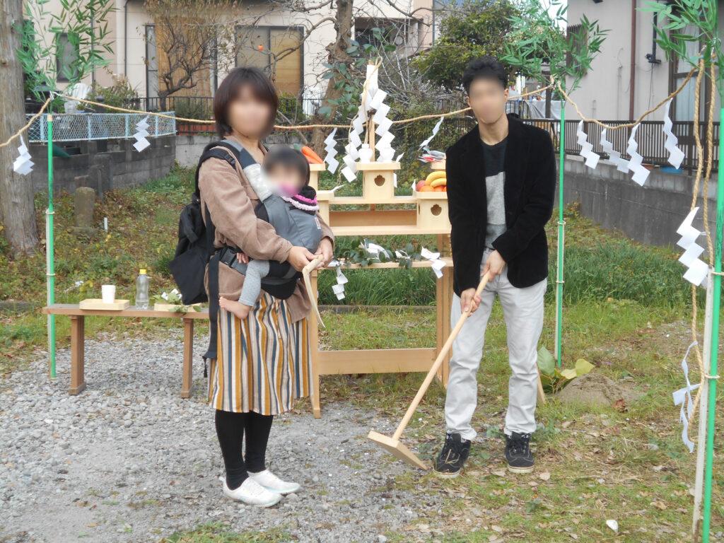 長泉町地鎮祭